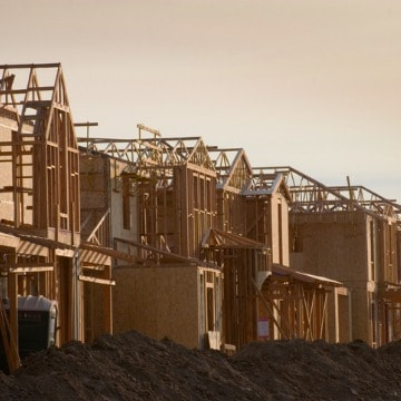 New Housing Development Under Construction